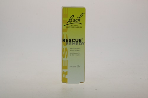 Bach Rescue remedy druppels 20ml PL500/28