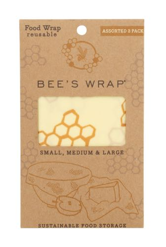 Bee's Wrap 3-pack assorted maat S/M/L