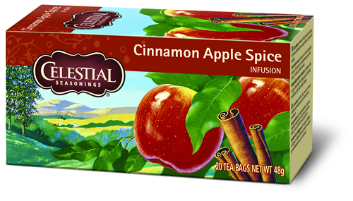 Celestial Herb tea cinnamon apple spice 20 builtjes