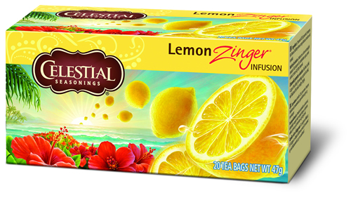 Celestial Herb tea lemon zinger 20 builtjes