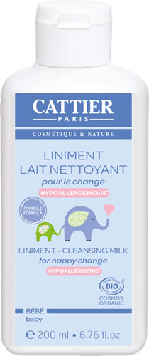 Cattier Baby reinigingsmelk bio 200ml