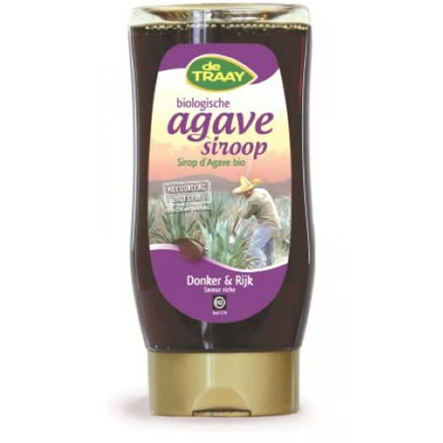 De Traay Agave donker bio 350g